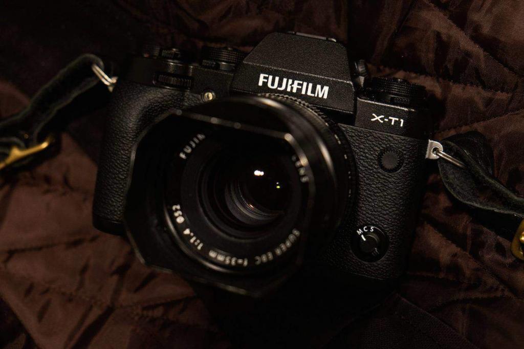 Fujifilm X-T1 istanti digitali