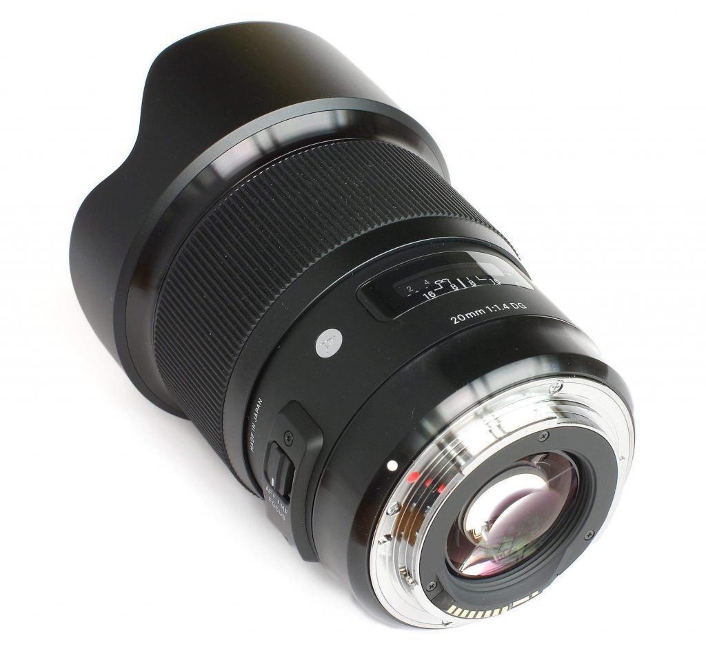 Sigma 20mm F1.4 DG HSM A