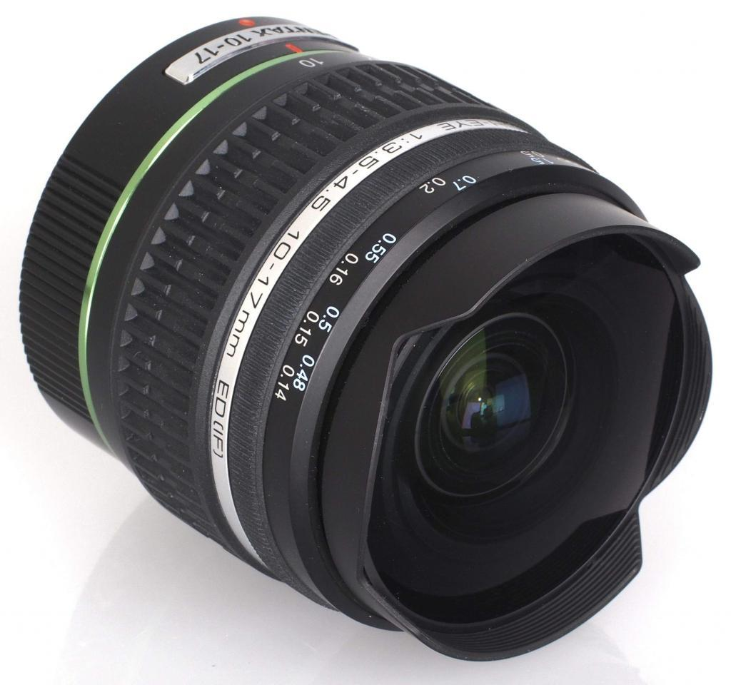 Pentax-DA HD Fisheye 10-17mm f 3.5-4.5 ED