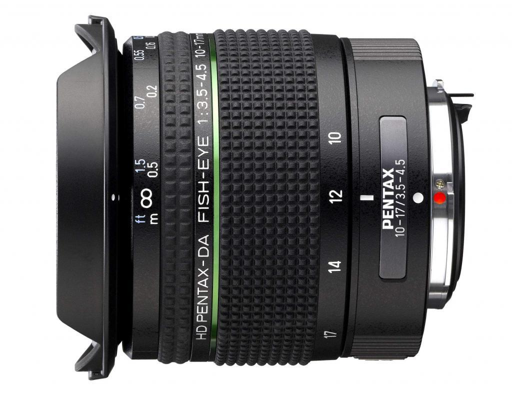 Pentax-DA HD Fisheye 10-17mm f/3.5-4.5 ED