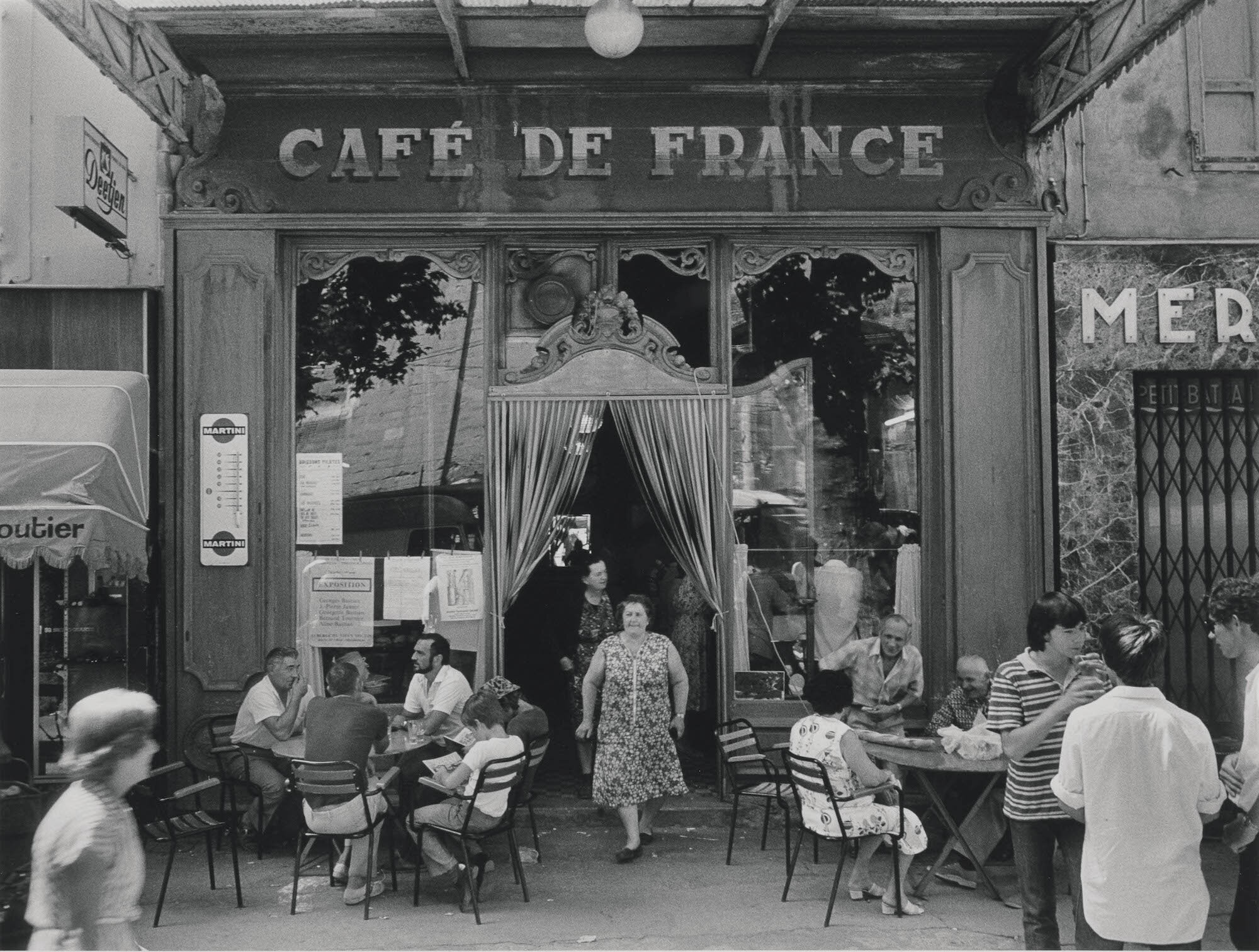 WILLY RONIS (1910-2009) L'Isle sur la Sorgue, 1979