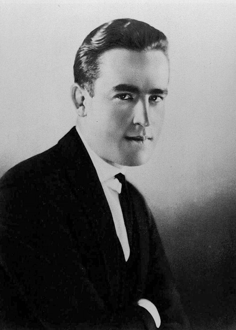 Abbe James Edward ritratto Harold Lloyd Jul (1922)
