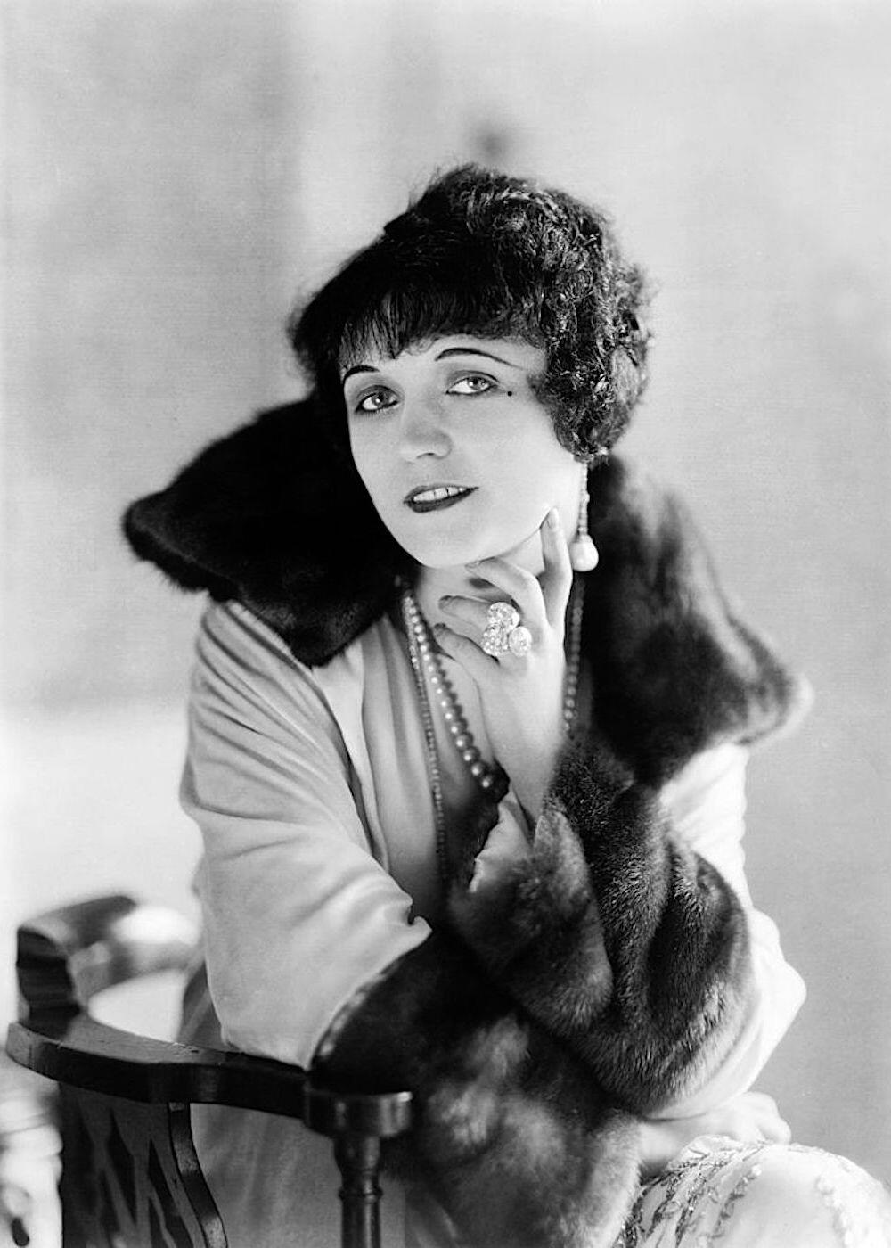 Abbe James Edward ritratto Pola Negri (1921)