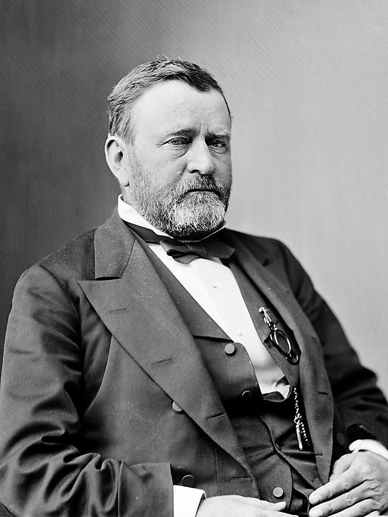 Mathew B. Brady | Ulysses_S._Grant_1870-1880
